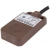 PFI25-8AC Датчик приближения индуктивный, 2-ух проводный, Питание 100-240VAC, плоский корпус 25х25х10 мм, Верхняя часть обнаружения, расст. срабат. до 8мм, Норм. закрытый, IP67, Ма