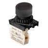 S2PR-P1KB, Кнопка нажатия, НЗ, цвет черный