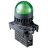 L2RR-L1GD, Контрольная лампа Куполовидная, LED 12-30VDC/AC, НЗ, цвет Зеленый