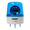 AVG-02-B , Маячок проблесковый, диаметр=135мм, механическое вращение, Лампа накаливания MAB-T15-D-024-25, Питание 24VAC, Цвет Синий. IP42