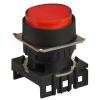 L16RR-ER Сигнальная лампа, плоская,круглая, выступающая, 16 мм