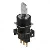 S16KR-2DKC 2(0-S)/R/1C Селекторный переключатель с ключом, круглый, 16 мм