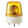 AVG-20-Y Маячок проблесковый, диаметр=135мм, механическое вращение, Лампа накаливания MAB-T15-D-240-25, Питание 220VAC, Цвет Желтый. IP42