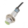 PR12-2DP Датчик приближения индуктивный, расстояние срабатывания до 2мм, M12x1 mm, PNP - Нормально открытый, Экранированный, макс. частота срабатывания 1500Гц
