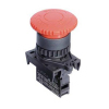 S2ER-E3RB, Грибовидная кнопка o40, -, НЗ, цвет Красный