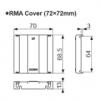 RMA-COVER TK4M TERMINAL COVER Крышка для TK4M