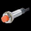 PRL12-4DP Датчик приближения индуктивный, длиный корпус 55 мм, расстояние срабатывания до 4мм, M12x1 mm, PNP - Нормально открытый, НЕэкранированный, максимальная частота срабатыван