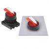 S2SRN-L3ARBLM Селекторный переключатель клюв, короткая ручка Shark