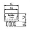 CT-01 Розетка для фотодатчика BS5 ( к ней необходимо припаивать кабель)