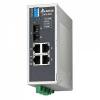 DVS-005W01-SC01 Неупр. коммутатор Ethernet,4 порта FE, 1 SC SingleMode 30 км, реле, -40...+75 С