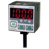 PSA-1P-RC1/8 DC12-24V Датчик давления, цифровая индикация, 0-1000кПа, выход 1-5В, PNP, корпус 30х30х38,5мм