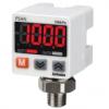 PSAN-L1CPA-R1/8 Датчик давления, Избыточное давление, С разъёмом, для текучих сред (газ, жидкость, масло), от 0 кПа до 1000 кПа, PNP-выход с открытым коллектором / выход тока (4-20