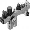 Блок подготовки воздуха комбинация FRC-3/8-D-MIDI-KF-A