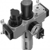 Блок подготовки воздуха комбинация LFR-1/4-D-MINI-KF