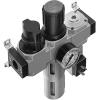 Блок подготовки воздуха комбинация LFR-3/8-D-MIDI-KF-A