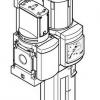 Блок подготовки воздуха MSB4-1/4:C3J4-WP