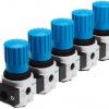 Блок регуляторов давления LRB-1/4-D-O-K5-MINI