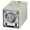 ATS8-41 Многофункциональный таймер 8-конт. штекер, Интервал времени от 0,1с до 10ч., Режим работы [A] и [F], - Запуск при вкл. питания, Питание 100-240VAC/24-240CDC, Выход реле 3А,