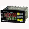 CT6Y-2P4 100-240VAC Счетчик/таймер с сенсорным управлением, индикатор 6 цифр, размер 72x36мм, Двойная уставка, 2 выхода реле