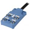 PT4-4DN5-5  4PORT 2SIGNAL NPN(5M)  Распределительная коробка