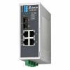 DVS-005W01-MC01  Неуправляемый коммутатор Ethernet, 5 портов, -40...+75 С, метал. корпус, с аварийным вых., многомодальный оптич. порт SC