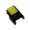 CNE-S03-YW Гнездо с кабельным подключением, 3-контакта,  Номин. ток контактов 3А, 250VAC, Сечение провода (AWG) 24-26, площадь поперечного сечения 0,13...0,21 мм2, Цвет - Жёлтый