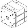 Компактный цилиндр ADNGF-100-20-PPS-A