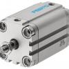 Компактный цилиндр ADVU-50-40-A-P-A