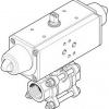 Кран шаровой VZBA-2-GG-63-T-22-F0507-V4V4T-PS90-R-90-4-C
